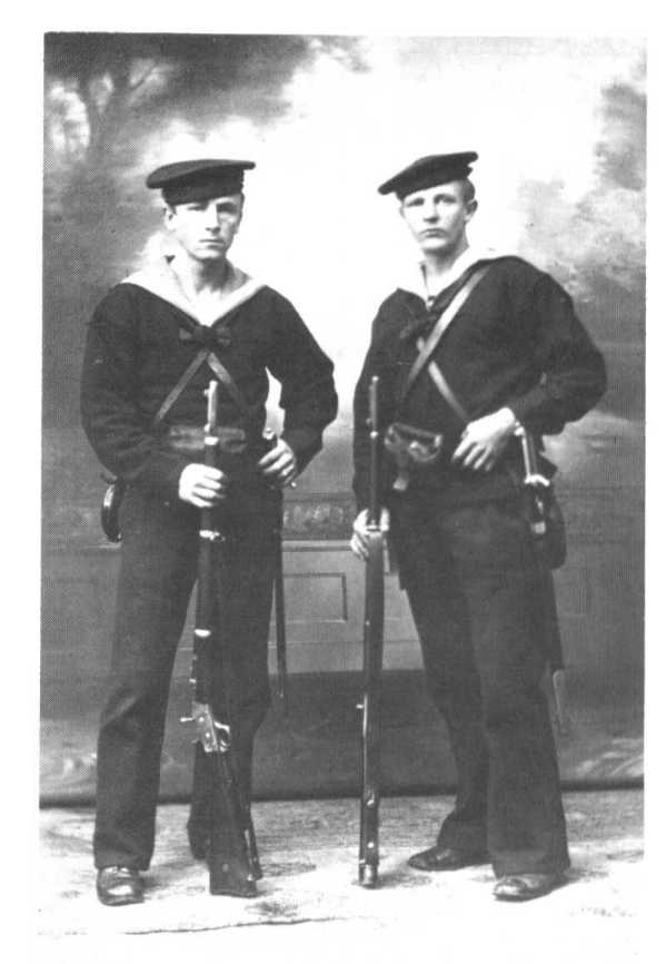 Danish marines with M1867-93 bayonets